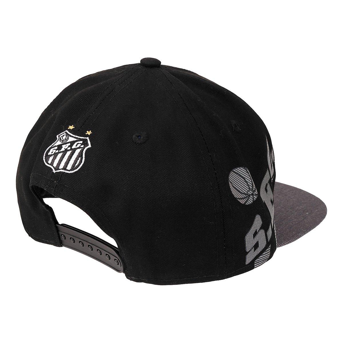 Boné New Era Santos Aba Reta Refletivo 950 OF SN - Compre Agora ... 0a157e32ea8