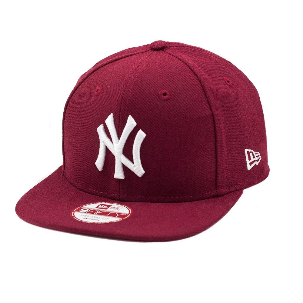 22d719b111ef1 Boné New Era Snapback Original Fit New York Yankees - Vinho - Compre Agora