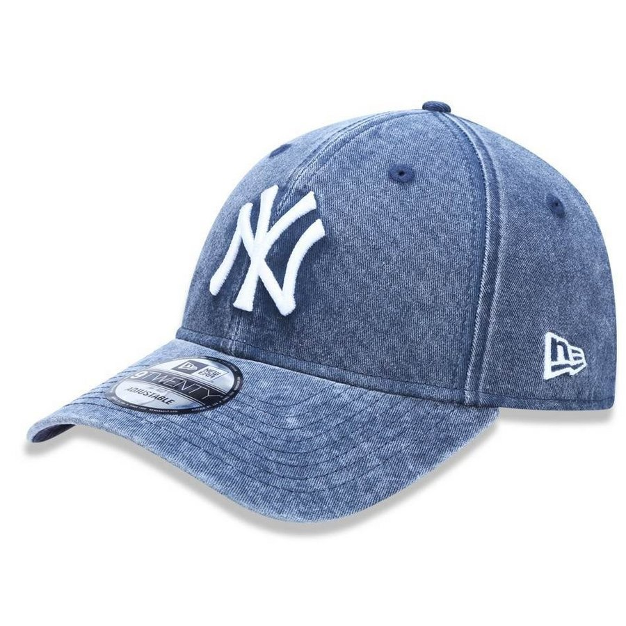 Boné New York Yankees 920 Jeans Lavado New Era - Compre Agora  b82c31bd643