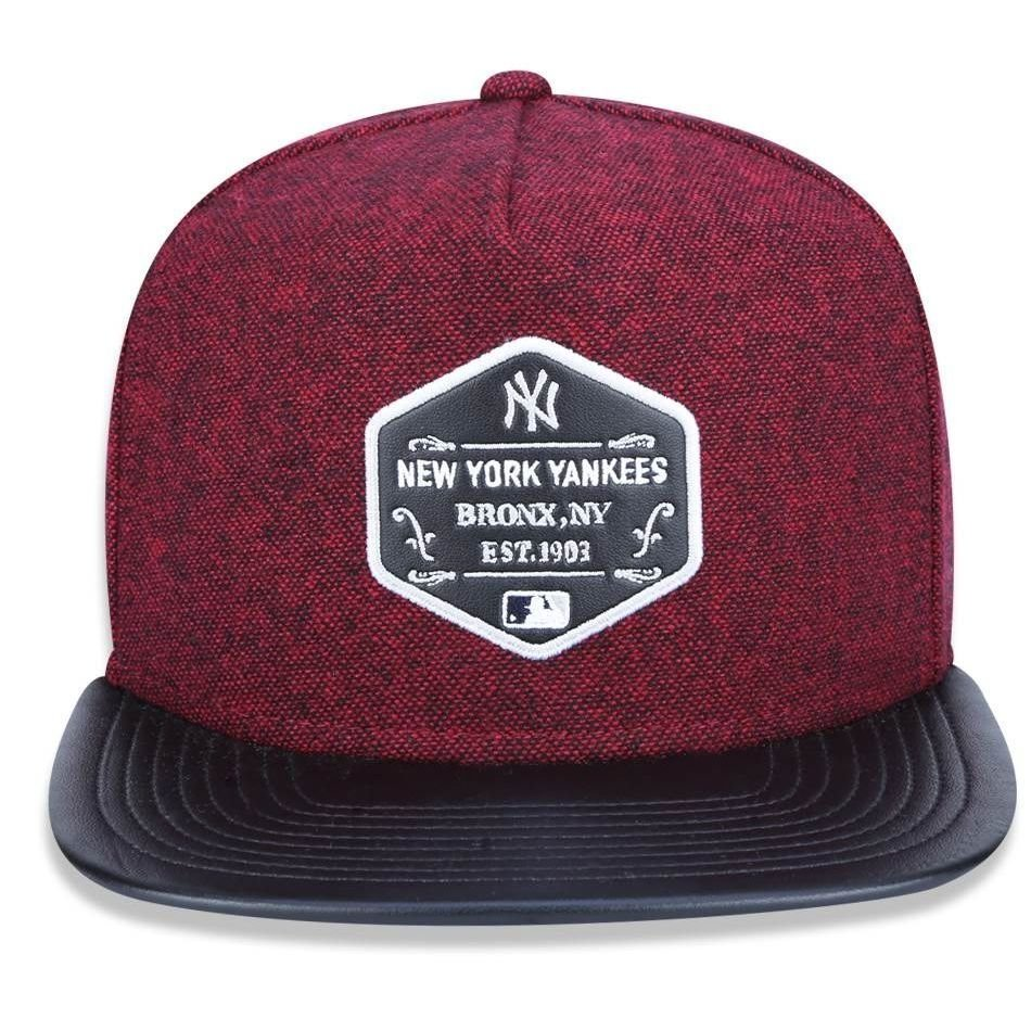 Boné New York Yankees 950 Core Leather - New Era - Compre Agora ... f289b6de964