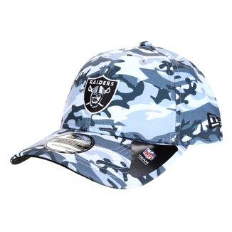 Boné NFL Las Vegas Raiders New Era Aba Curva Strapback St Military Full Print 920