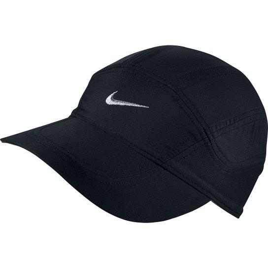 Boné Nike Aba Curva Dri-Fit Spiros - Preto