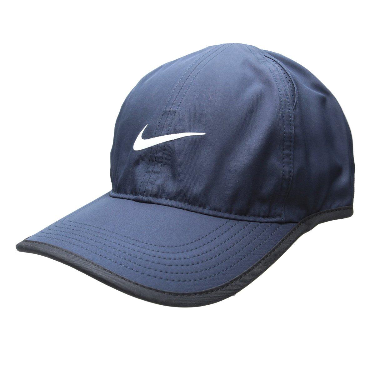 Boné Nike Aba Curva Featherlight - Compre Agora  8eec1f493c9