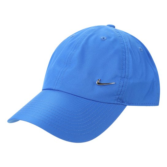 Boné Nike Aba Curva H86 Metal Swoosh - Azul Claro