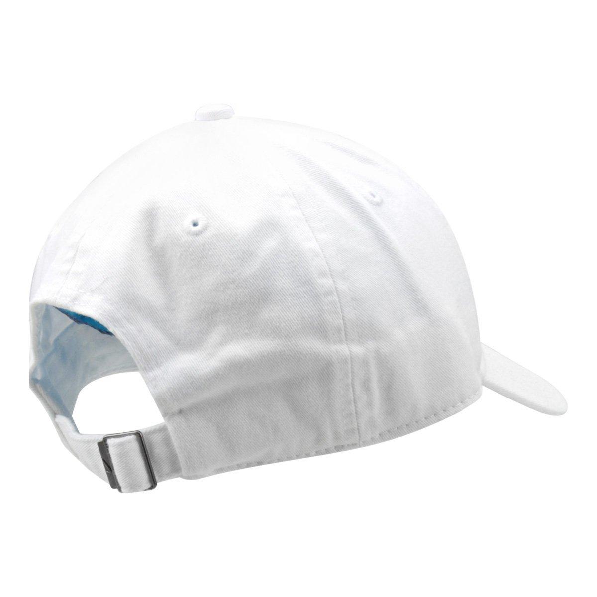 4b8e0bda05539 Boné Nike Aba Curva U Nsw H86 Futura Washed - Branco e Preto ...