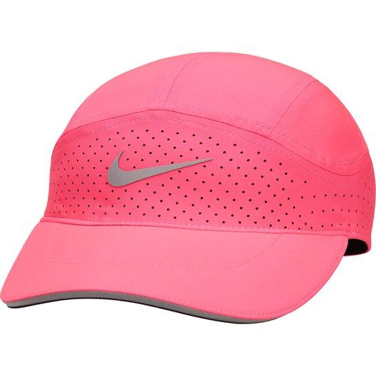 Boné Nike Dry Arobill Twiight Elt Aba Curva - Rosa