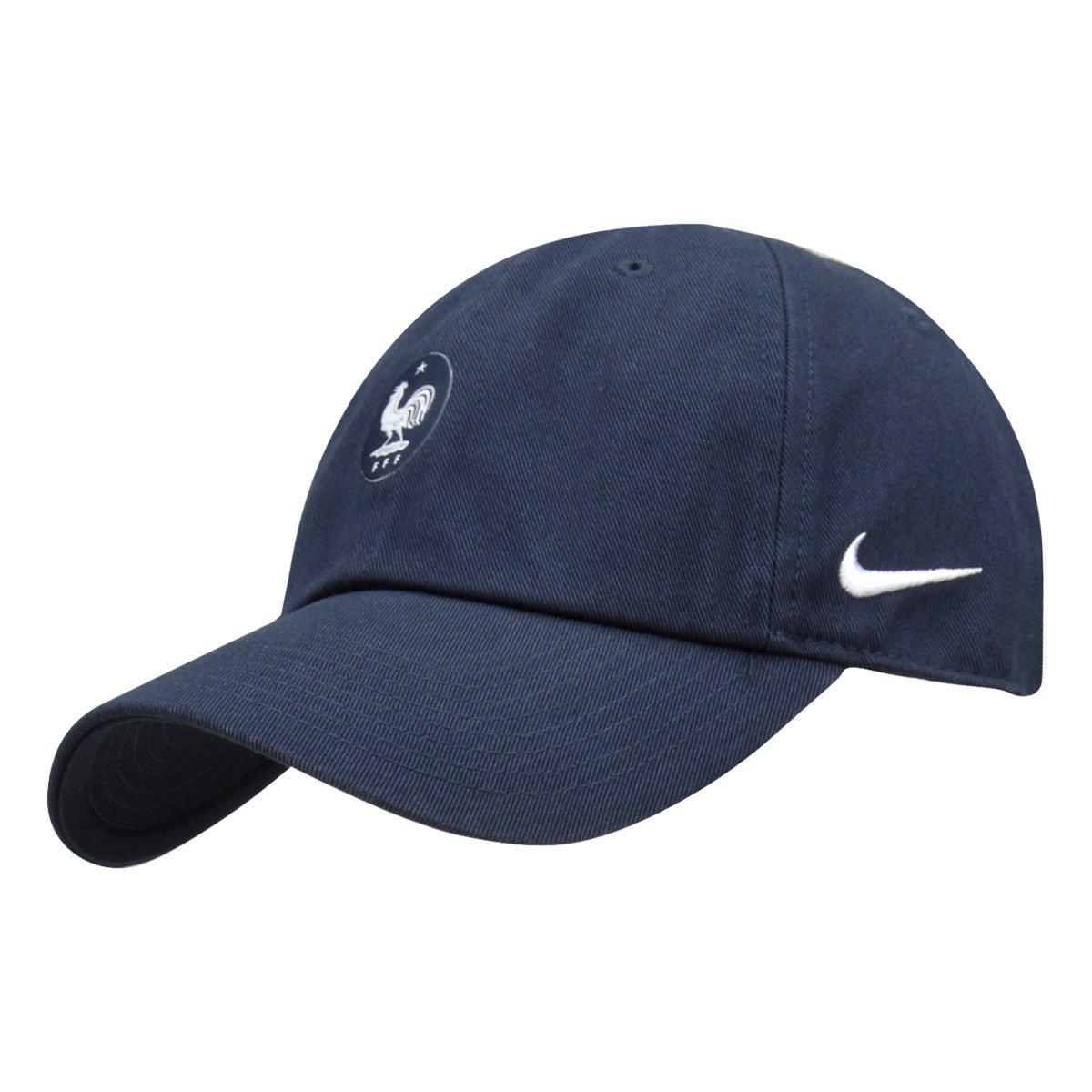 Boné Nike França Aba Curva H86 - Compre Agora  7054710fd88