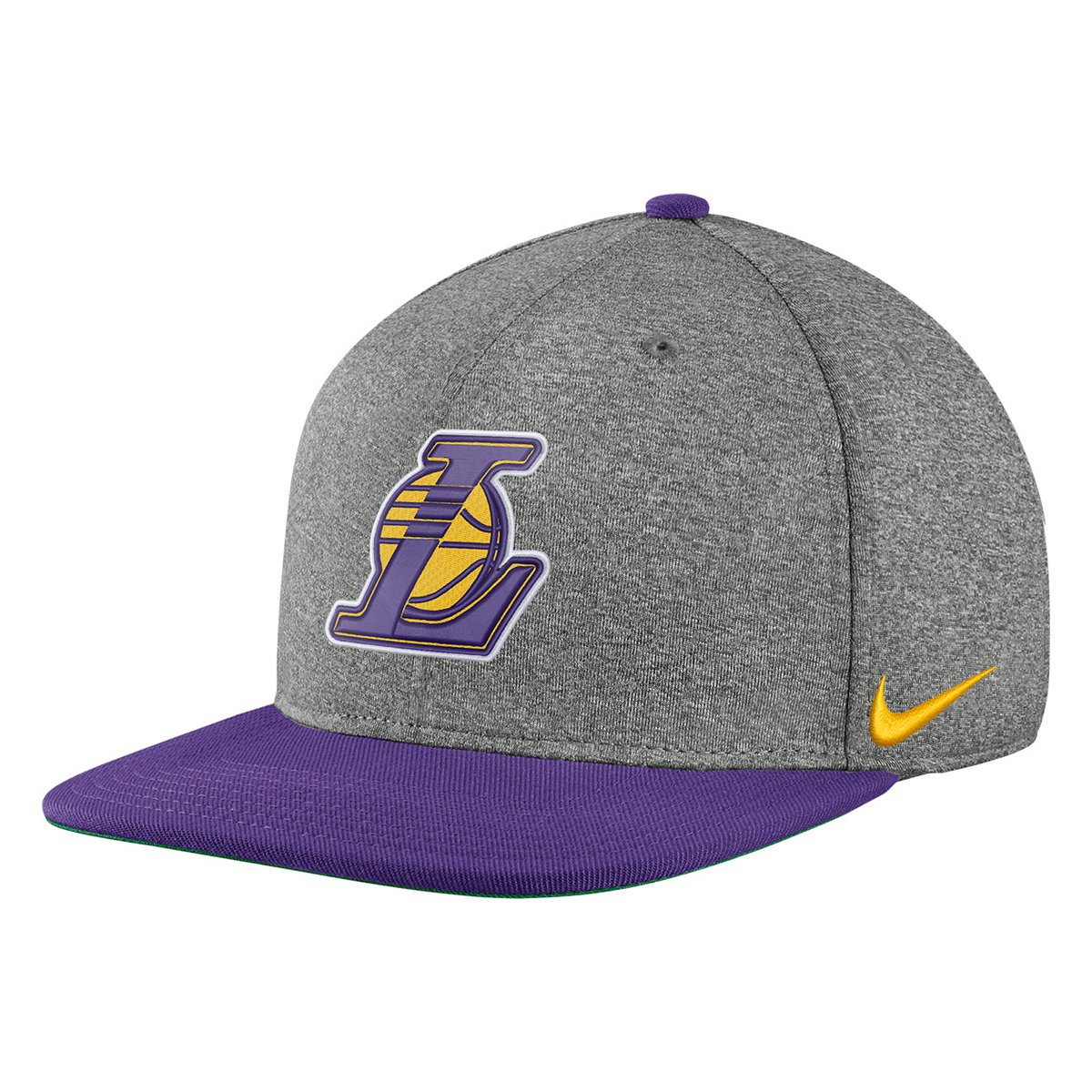6eb4ac97a16dc Boné Nike NBA Pro Heather Los Angeles Lakers Aba Reta - Compre Agora ...