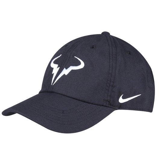 Boné Nike Rafael Nadal Aba Curva - Preto