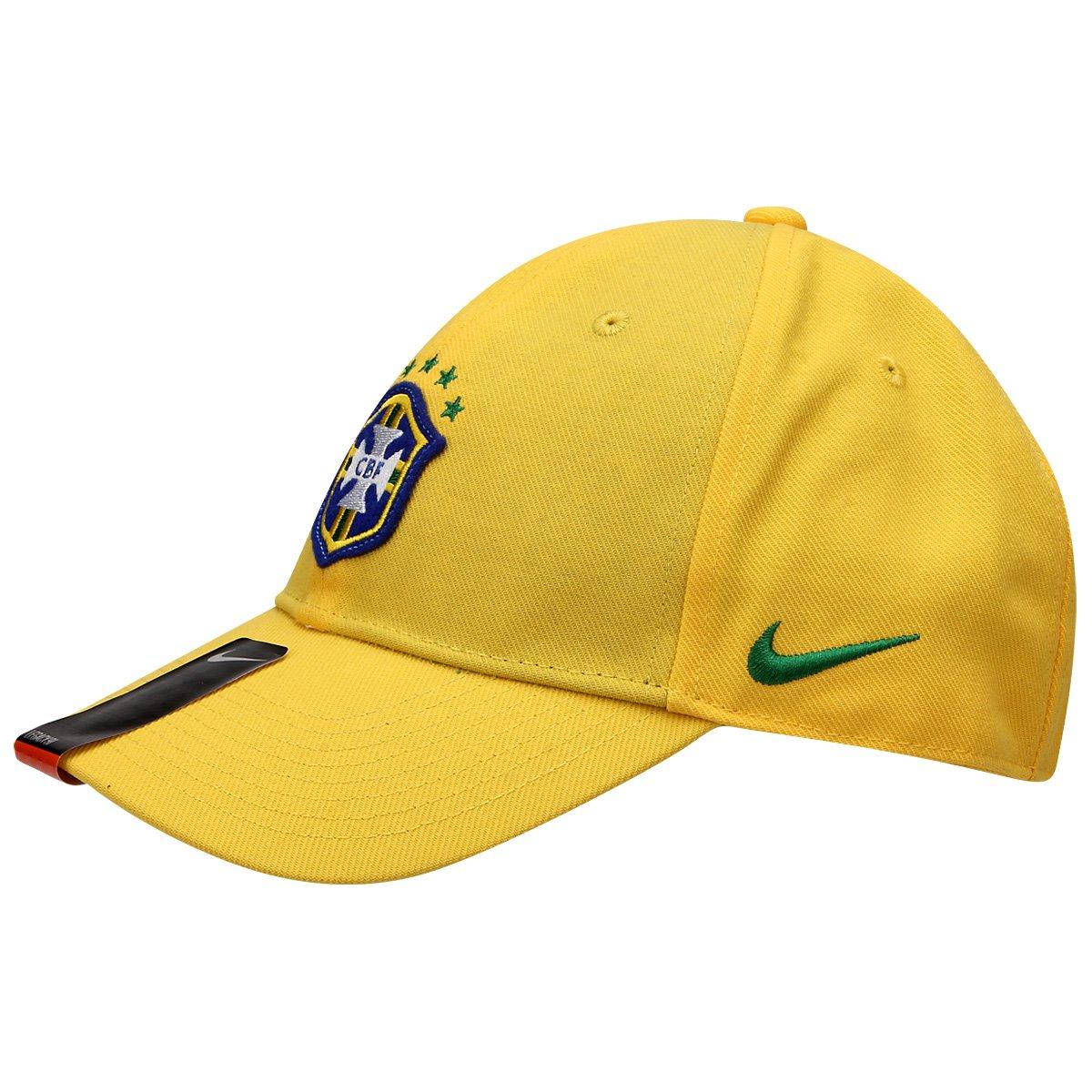 Boné Nike Seleção Brasil Core - Compre Agora  89085f6f820
