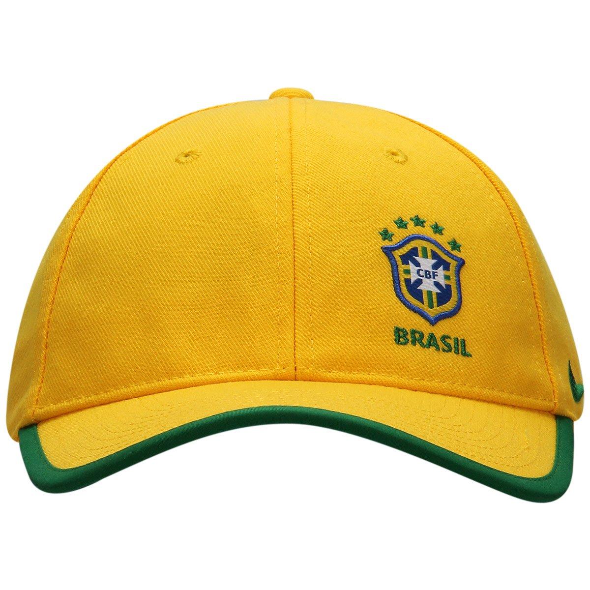 Boné Nike Seleção Brasil Core - Compre Agora  dd7b6d19809ea