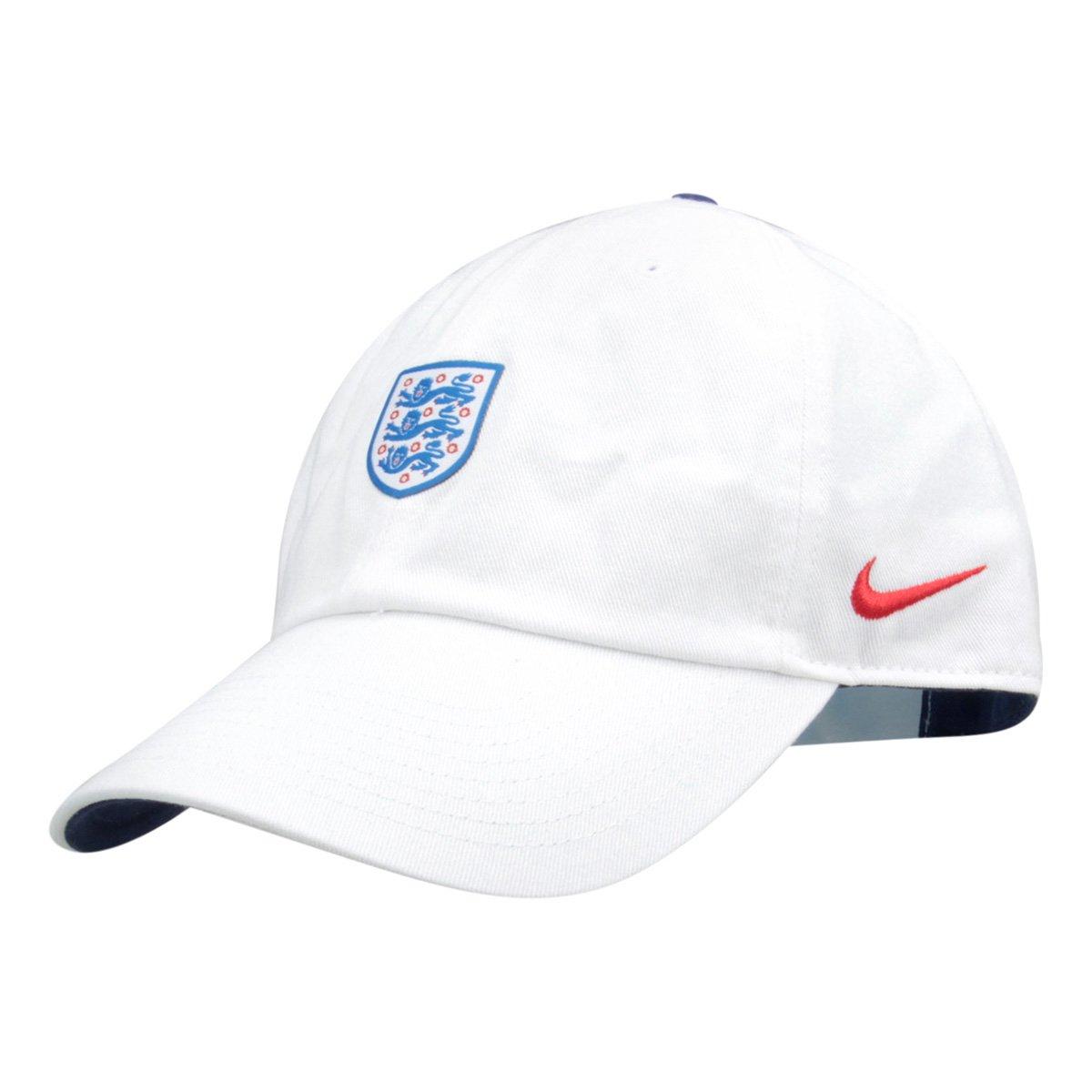 Boné Nike Seleção Inglaterra Aba Curva H86 Core - Compre Agora ... 52ff145b539