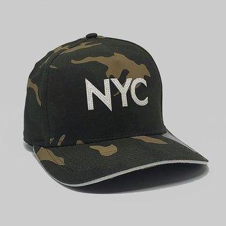 BONÉ NYC  ANTH CO FITAO ABA CURVA 8569