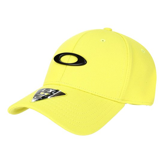 Boné Oakley Aba Curva Fechado Tincan - Amarelo