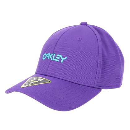 Boné Oakley Aba Curva Mod 6 Panel Stretch Hat Metallic
