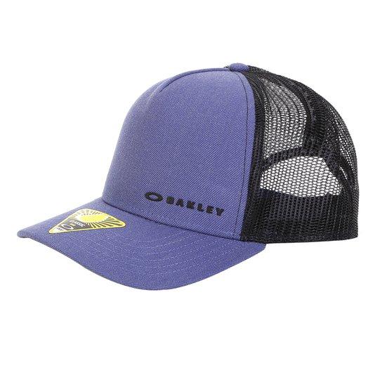Boné Oakley Aba Curva Mod Chalten Cap Masculino - Azul Escuro