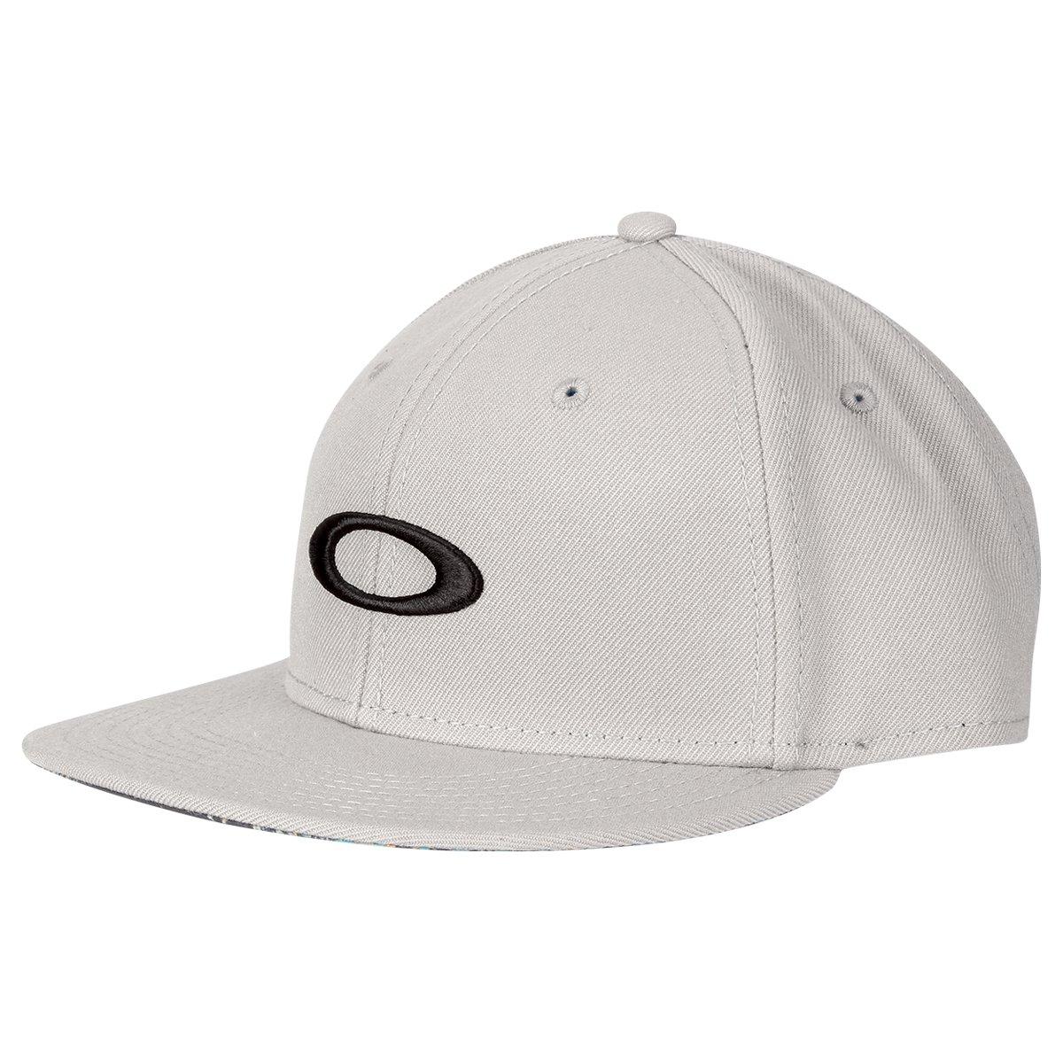 Boné Oakley Aba Reta Mod Ellipse Print Masculino - Compre Agora ... 7737e335e2ee9