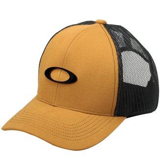 Boné Oakley Metal Ellipse Trucker Hat Dourado