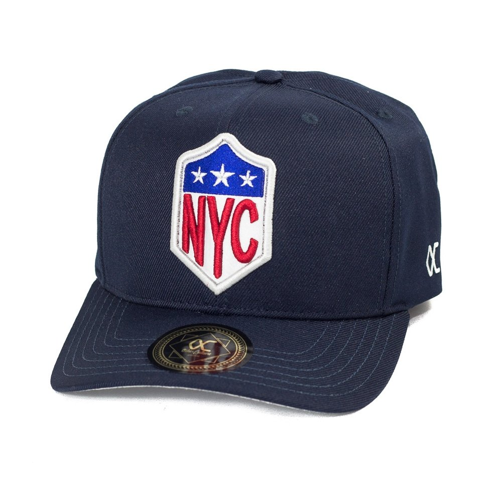 92516f21610ba Boné Other Culture Aba Curva Snapback NYC Azul - Compre Agora