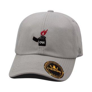 Boné Overking Aba Curva Dad Hat Strapback Lighter