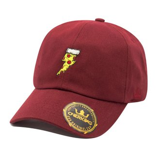 Boné Overking Aba Curva Dad Hat Strapback Pizza