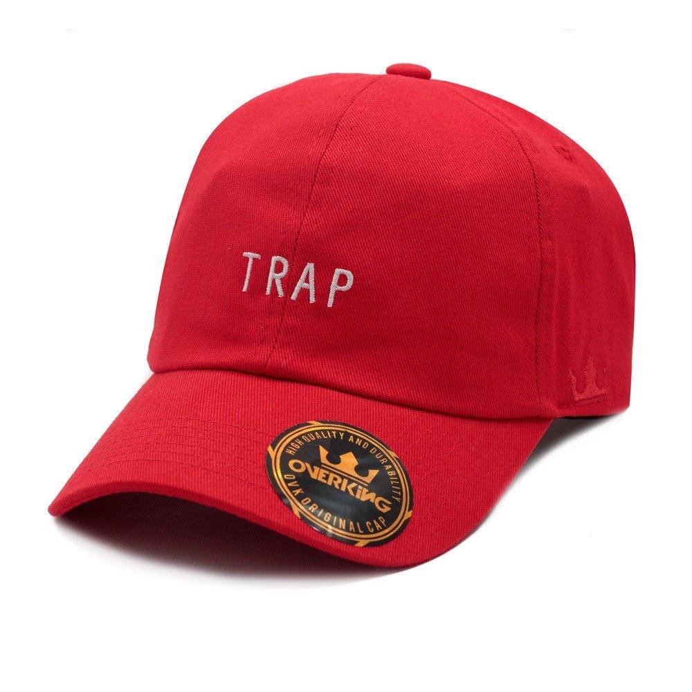 BONÉ OVERKING ABA CURVA DAD HAT STRAPBACK TRAP - Vermelho - Compre Agora  c1e8e659222