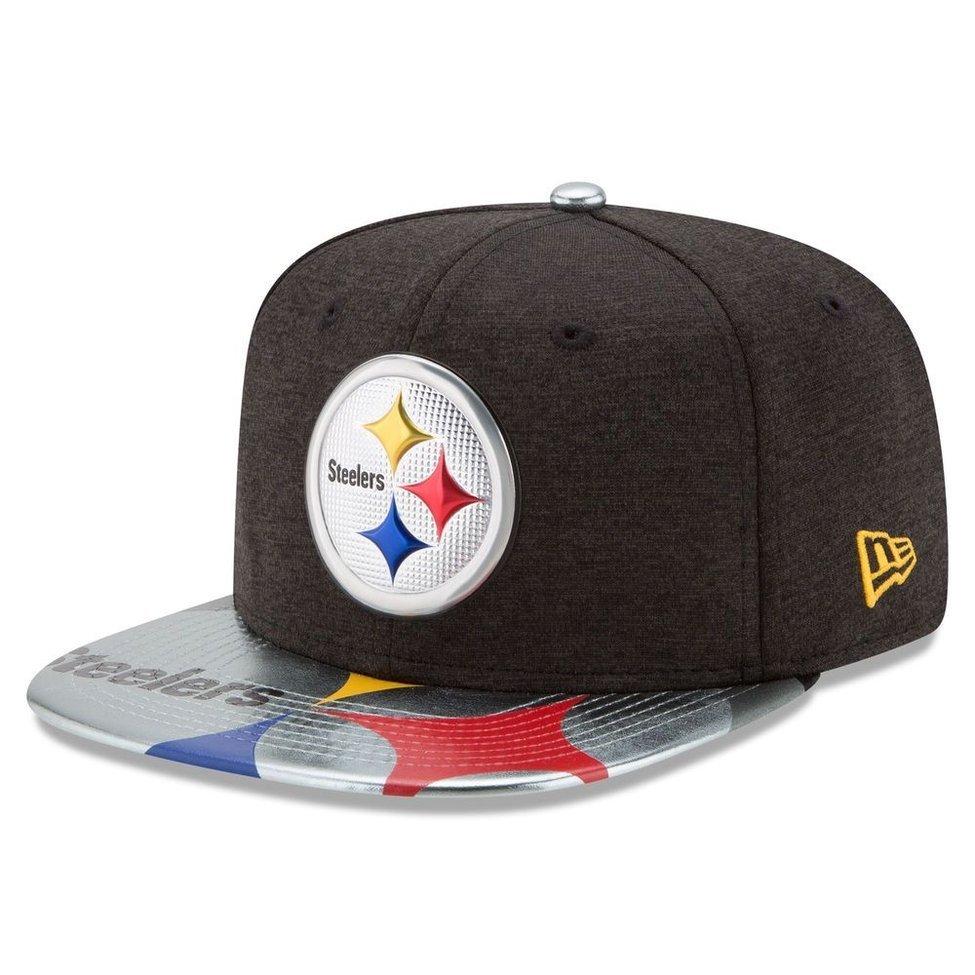 Boné Pittsburgh Steelers DRAFT 2017 On Stage Snapback - New Era ... befd79433f603