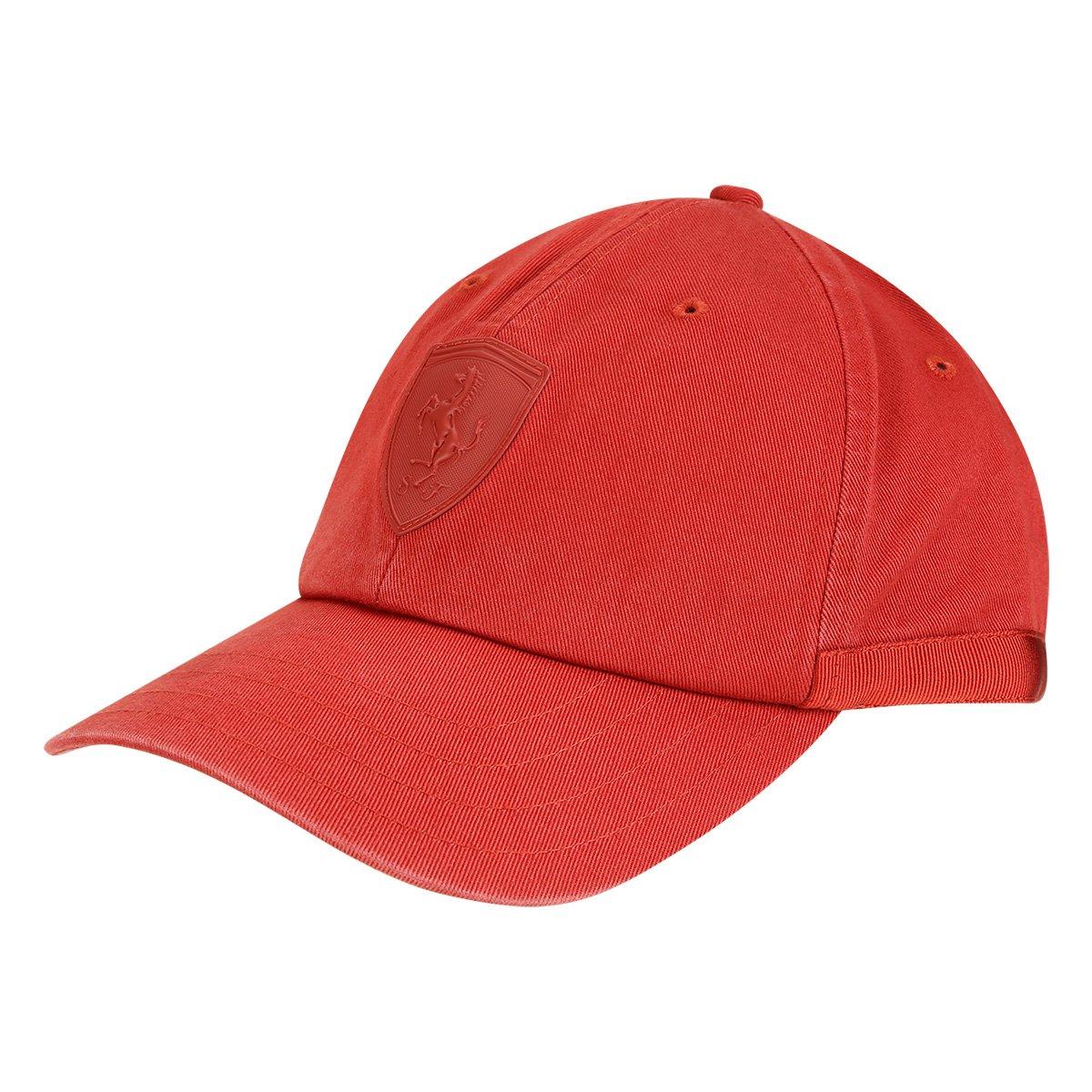 40c62915449bc Boné Puma Aba Curva Scuderia Ferrari LS Baseball - Vermelho - Compre Agora
