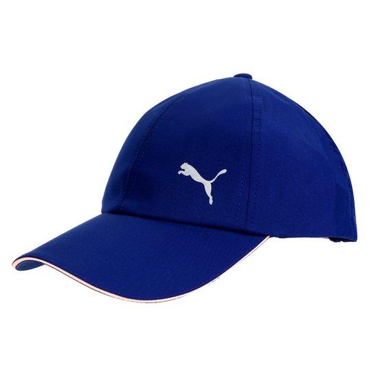Boné Puma Aba Curva Strapback ess Running Cap - Azul