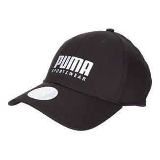 Boné Puma Aba Curva Stretchfit Bb Cap Auto Ajustável