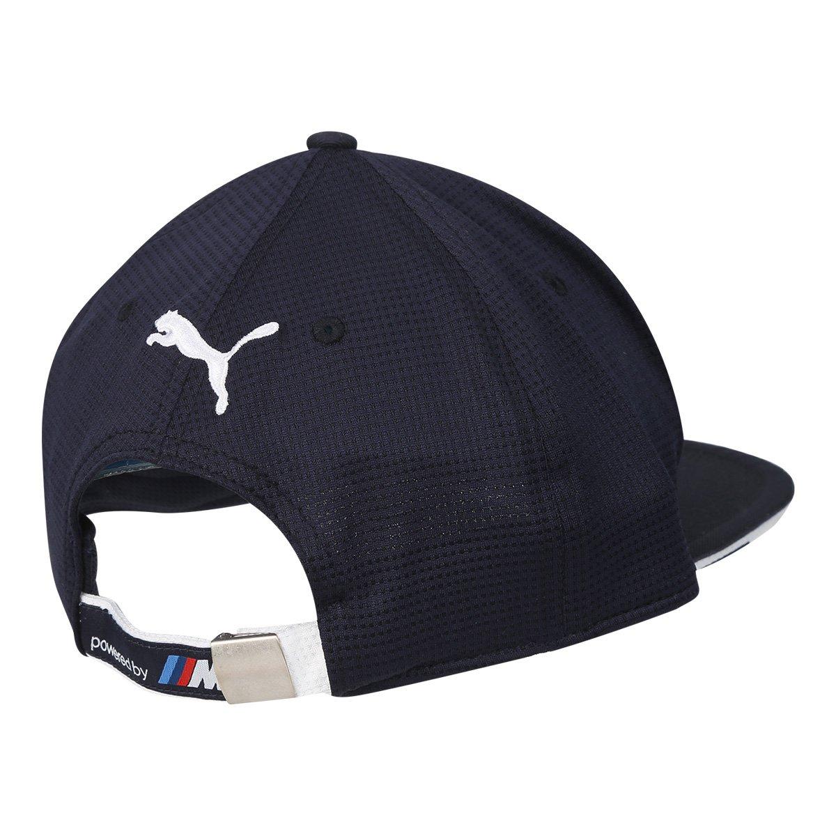 ... ca91a87a029 Boné Puma BMW Motorsport Aba Reta Flatbrim - Azul - Compre  Agora .. ... 30537be5417