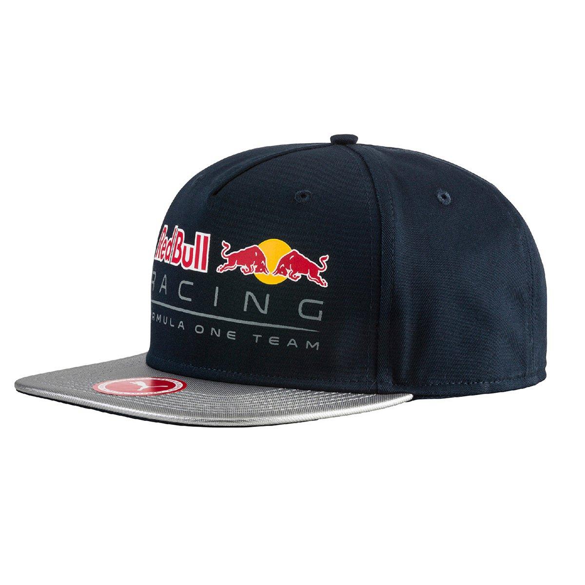 a2eff72f689b3 Boné Puma New Block Red Bull Racing - Marinho e Cinza - Compre Agora ...