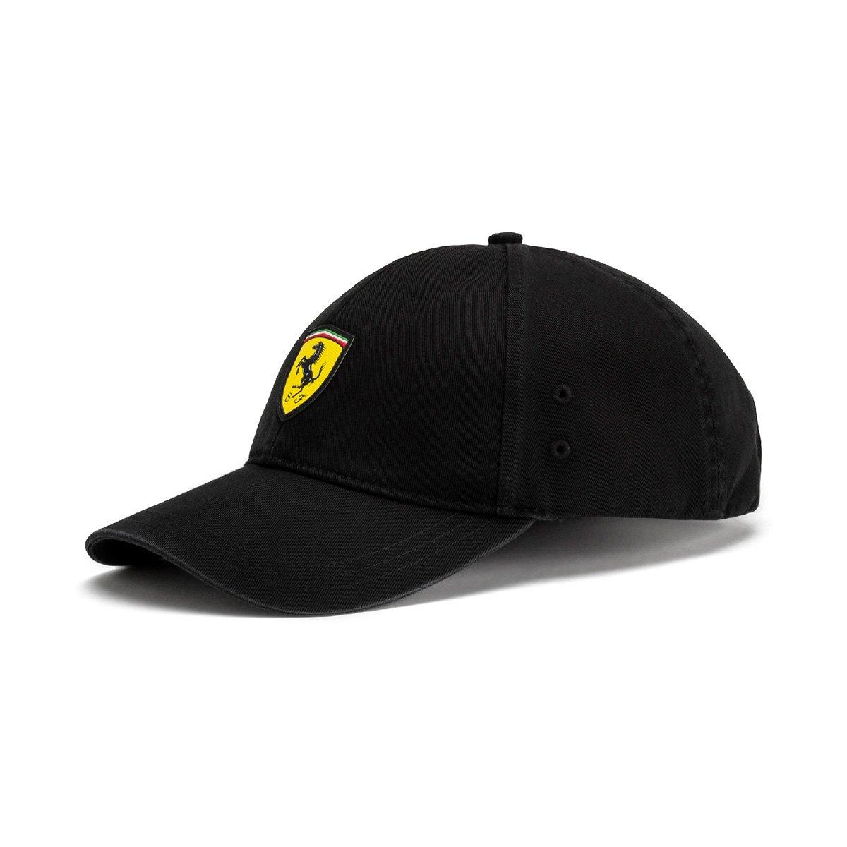9624365d26629 Boné Puma Scuderia Ferrari Aba Curva Fanwear BB Masculino - Preto - Compre  Agora