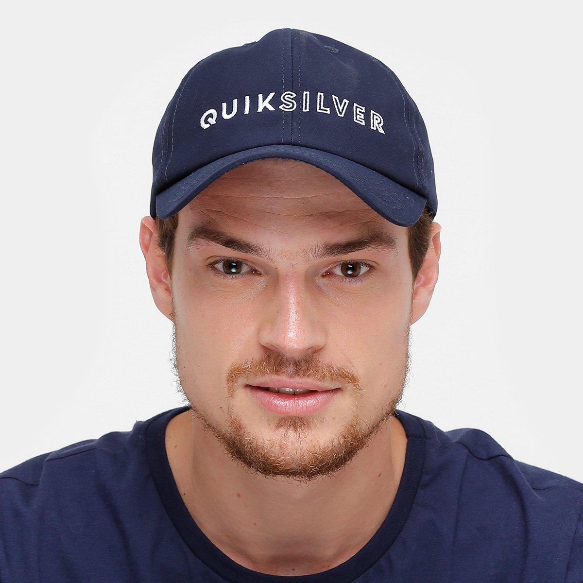 Boné Quiksilver Aba Curva Ass Basic Masculino - Compre Agora  d54412be9fd