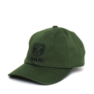 Boné RAM Dad Hat Standard Logo - Verde Musgo