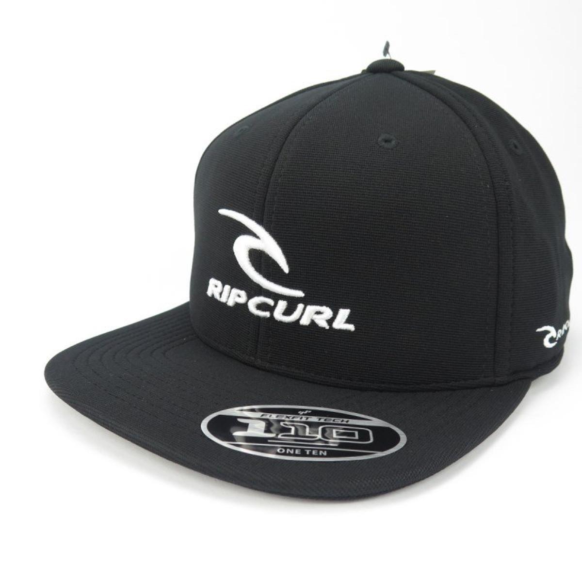Boné Rip Curl GM Team Aba Reta Snap Preto - Compre Agora  cae7a078c6a