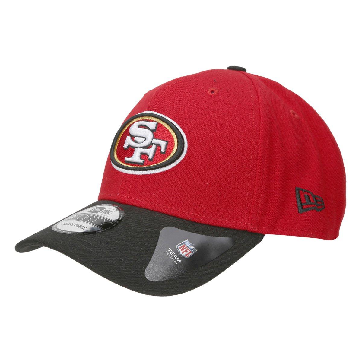 Boné San Francisco 49ers New Era Aba Curva NFL 940 Hc Sn Basic - Vermelho e  Preto - Compre Agora  b44058b81eb