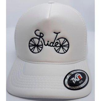 Boné Santo Pedal Ride Aba Curva Snapback Unissex