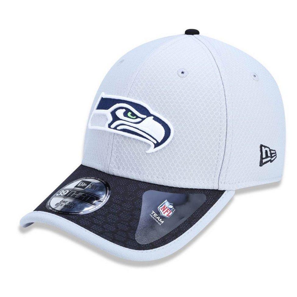 Boné Seattle Seahawks 3930 Sideline 2017 Gray New Era - Compre Agora ... d6402fbe131