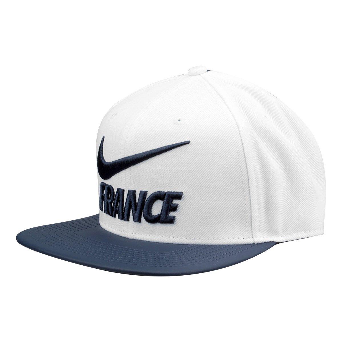 c8d66fbdc2ce1 Boné Seleção França Nike Pro Aba Reta - Compre Agora