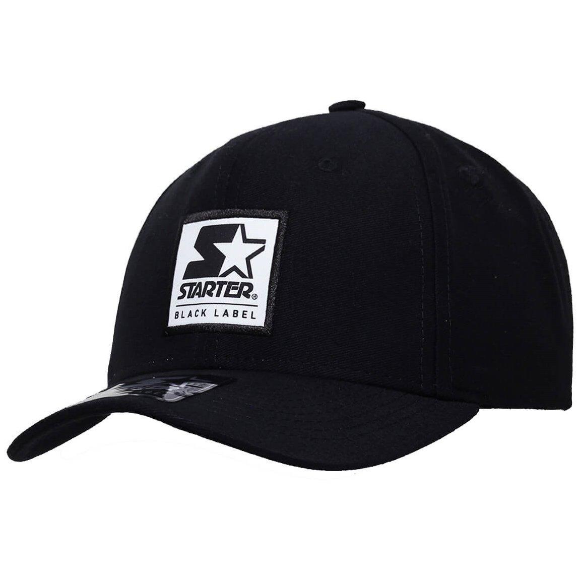 Boné Starter Aba Curva Snapback Black Label - Compre Agora  179a0211233