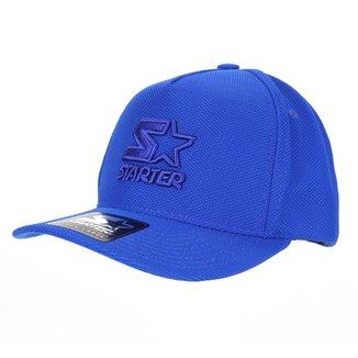 Boné Starter Aba Curva Snapback Logo Relevo