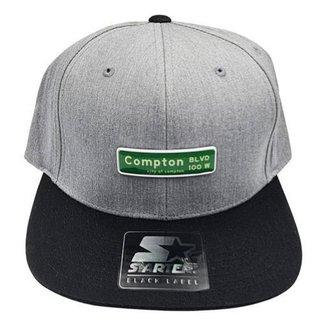 Boné Starter Aba Reta Snapback Compton Clássico Urban