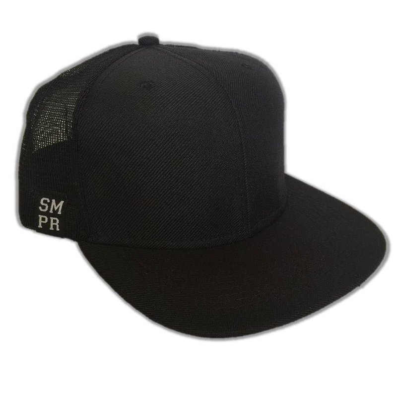 ALL BLACK Preto Trucker Boné Boné SMPR Clothings Trucker wqYXaSxw