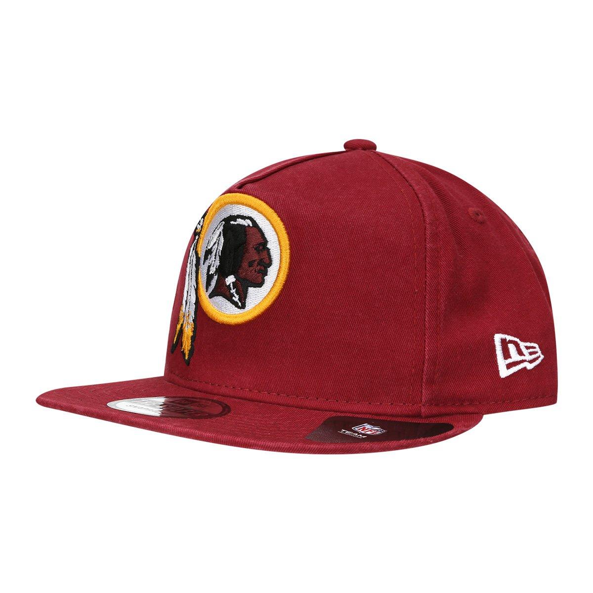Boné Washington Redskins New Era Aba Reta NFL Tg Af Sn Team Washed - Compre  Agora  06dce6a25f0