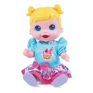 Boneca Babys Collection Comidinha 318 Super Toys