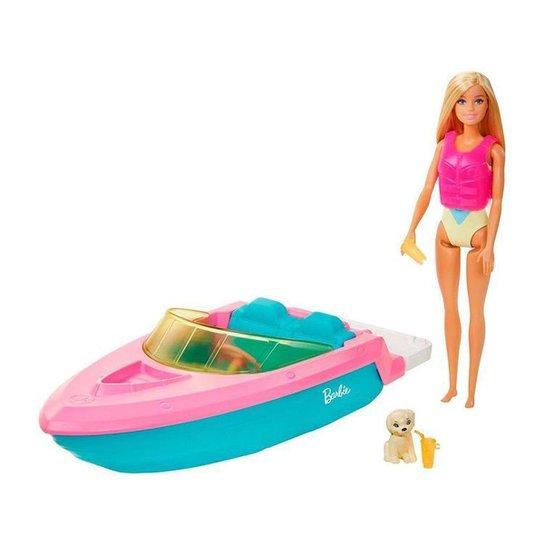 Boneca Barbie Estate Barco com Boneca - Colorido