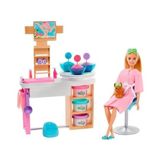 Boneca Barbie Fashionista Conjunto Spa de Luxo - Colorido