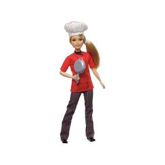 Boneca Barbie Profissões Chef de Cozinha