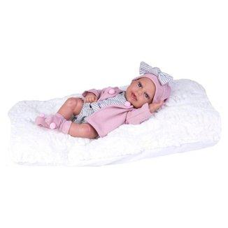 Boneca Bebê Boutique Dolls Reborn 472 Super Toys